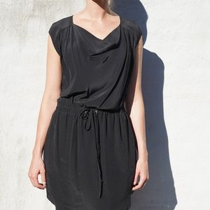 Silk Trouvé Scoop Neck Dress